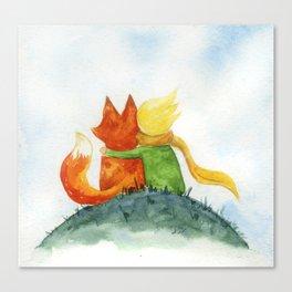 Best friend // Little prince Canvas Print