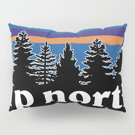 up north, blue & purple Pillow Sham