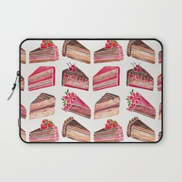 Cake Slices – Pink & Brown Palette Laptop Sleeve