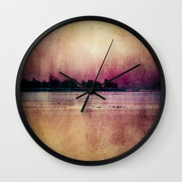 Scattered Dreams Wall Clock