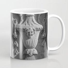 New York Ornate Carving Coffee Mug