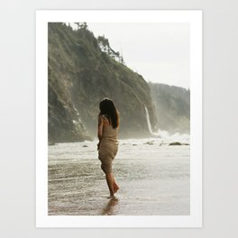 Lay in the Warm Sand All Afternoon Art Print