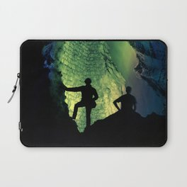 no lights to climb Laptop Sleeve