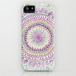 Intricate Spring iPhone Case