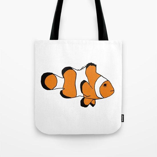 One Clownfish Tote Bag