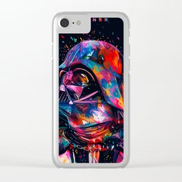 Darth Vader 'Father' Abstract Star.Wars digital Painting Clear iPhone Case