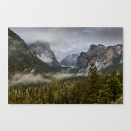 Yosemite National Park / Tunnel View  4/26/15 Canvas Print