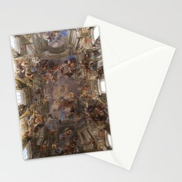 Sant'Ignazio Church, Rome Stationery Cards