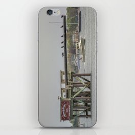 Cormorants on the Greasy Pole iPhone Skin