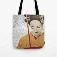 broken Tote Bags featuring Broken by DanaTina