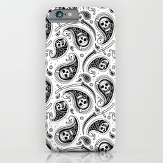 Death Paisley Pattern Slim Case iPhone 6