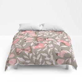 Monarch garden 005 Comforters
