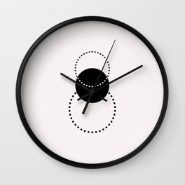 Geometric print - Shapes 001 Wall Clock