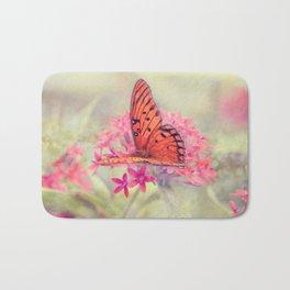 Quiet Butterfly Bath Mat