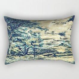 Oriental Touch Rectangular Pillow
