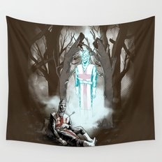 The Fallen Templar Wall Tapestry