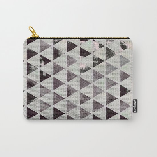 triangles. Carry-All Pouch