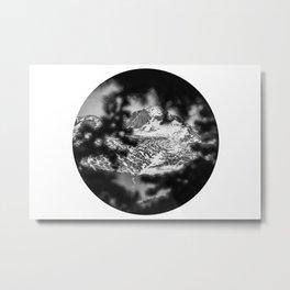 Peek-a-boo Mountains   Rocky Mountains National Park, Colorado Metal Print