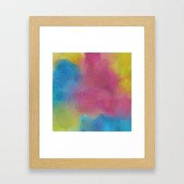 Fog Jitter Framed Art Print