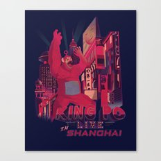 King Po LIVES Canvas Print