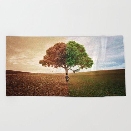 Division Beach Towel