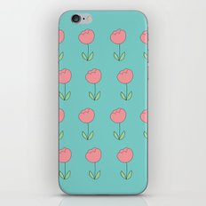 Color Me Pink with Spring iPhone & iPod Skin