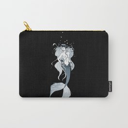 Mermaid with skull Carry-All Pouch