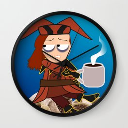 Cicero. Coffee. Wall Clock