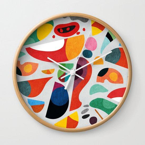Still life from god's kitchen Wall Clock