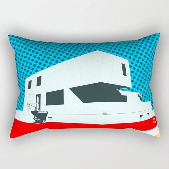Bauhaus Meisterhaus Pop 3 Rectangular Pillow