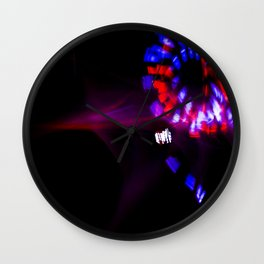 Red, White, & Blue Wall Clock