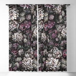 florals galore Blackout Curtain