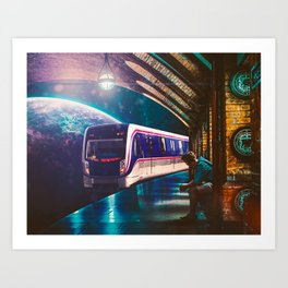 The Station Art Print