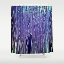 Icicles of Art Shower Curtain