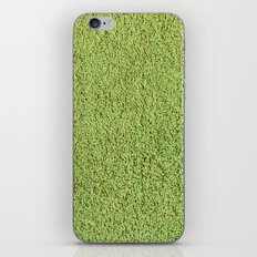 Phlegm Green Shag Pile Carpet iPhone & iPod Skin