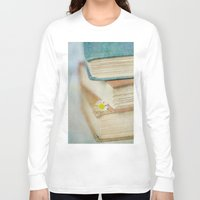 read Long Sleeve T-shirts featuring Read by Debbie Wibowo