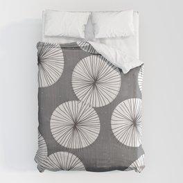 Umbrellas by Friztin Duvet Cover