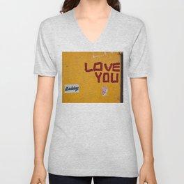 Love You, New York II Unisex V-Neck