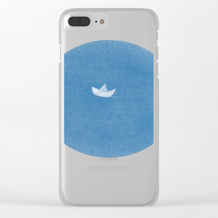 into the sea Clear iPhone Case