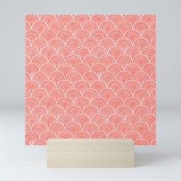 Coral Waves Mini Art Print