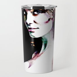 christina hendricks Travel Mug