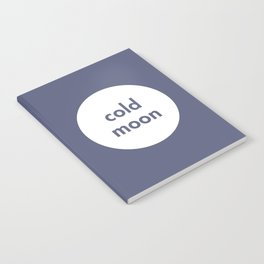Cold Moon Notebook