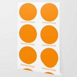 American Orange Wallpaper