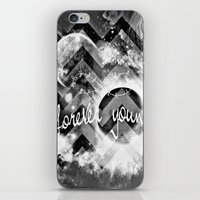 forever young iPhone & iPod Skins featuring forever young by haroulita
