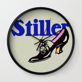 Stiller ladies' shoes Wall Clock