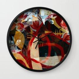 Vespers Wall Clock