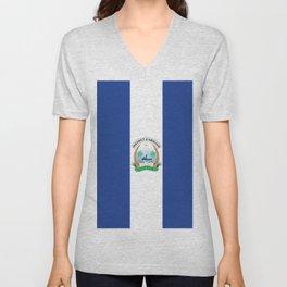 Flag of Abidjan Unisex V-Neck