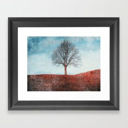 winter moments Framed Art Print