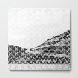 Mermaid mountain Metal Print