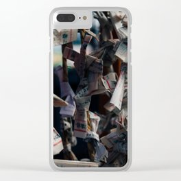 Omikuji Clear iPhone Case